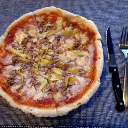 Tuna and Onions Pizza