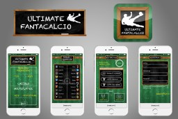Graphics: Logo, App Icon and App Design for Ultimate Fantacalcio