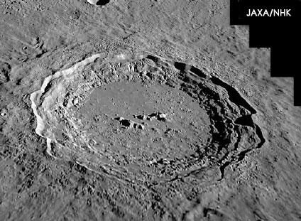 luna cratere copernico