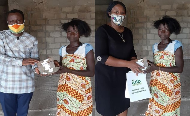 Crime Check Foundation Donates 21,000 Cedis To Poor Widow With 3 Kids