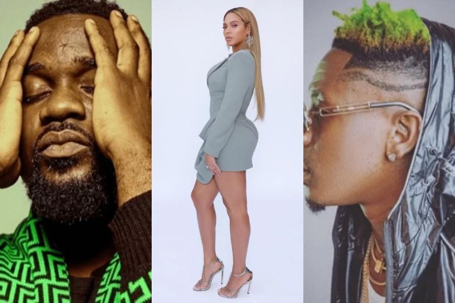 Sarkodei Beyonce Shatta Wale
