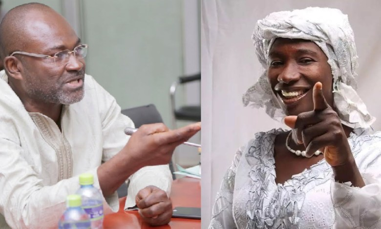 Kennedy Agyapong Exposes Cecilia Marfo For Spitting In The Mouths Of Her Church Members