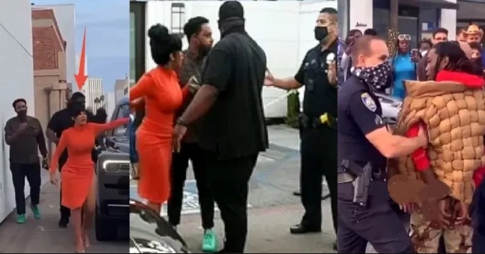 Cardi b goes haywire over police on offset