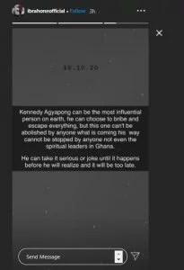 Ibrah One Latest News Kennedy Agyapong Latest News