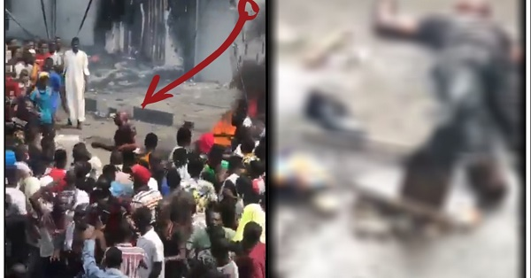 police officer lynched to death