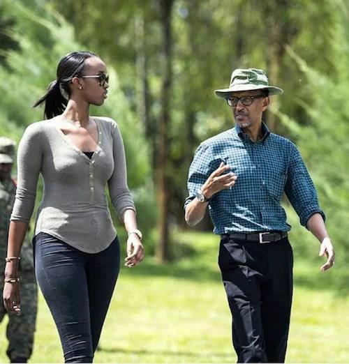 Ange Kagame, Rwandan President daughter