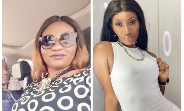 Wendy Shay and mother