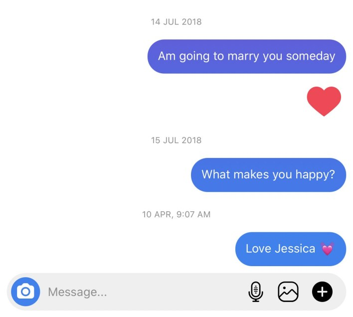 1612278367 534 Nigerian lady shares screenshots of love messages she sent to