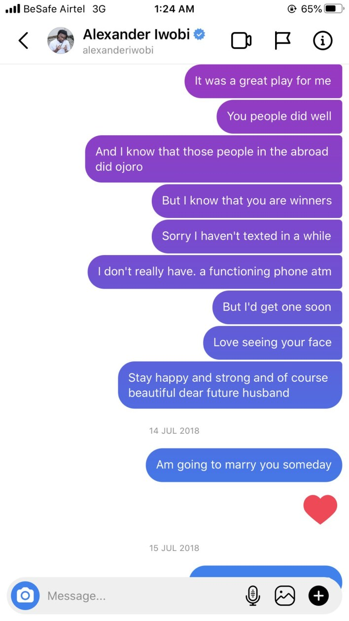 1612278367 681 Nigerian lady shares screenshots of love messages she sent to