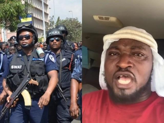 Ghana police - Funny Face
