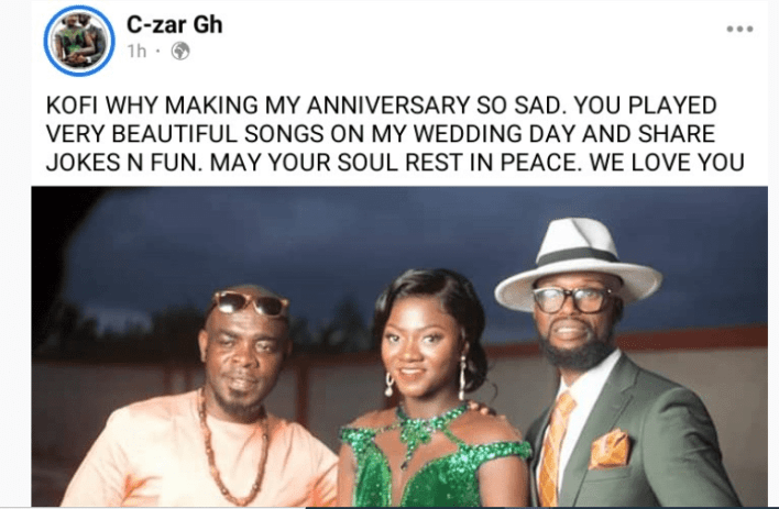 Ghanaians Remember Kofi B After One Year Of Passing