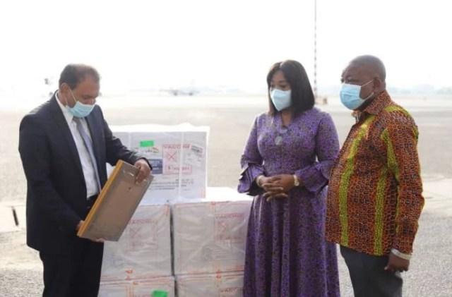 Ghana recieves new covid-19 vaccines