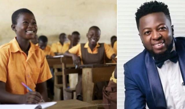 Guru basic school pupil