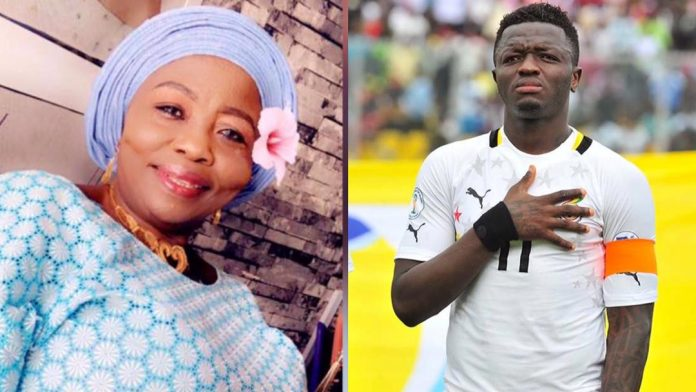 Sulley Muntari mother Hajia kande is dead
