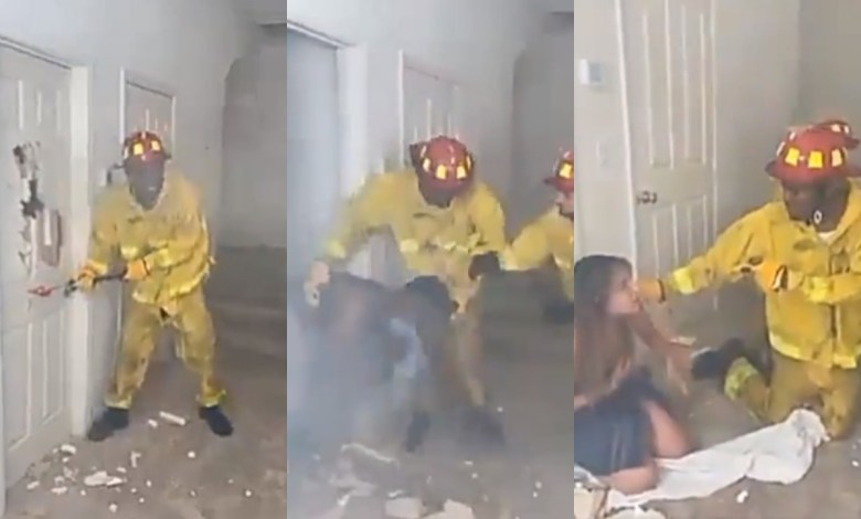 Fire Fighter caught wife with lover
