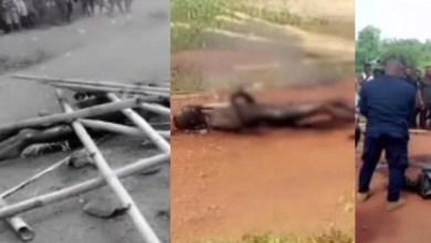 man set himself on fire