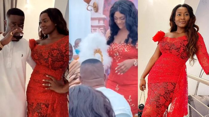 Sarkodie Sister Gets Married In Simple Ceremony