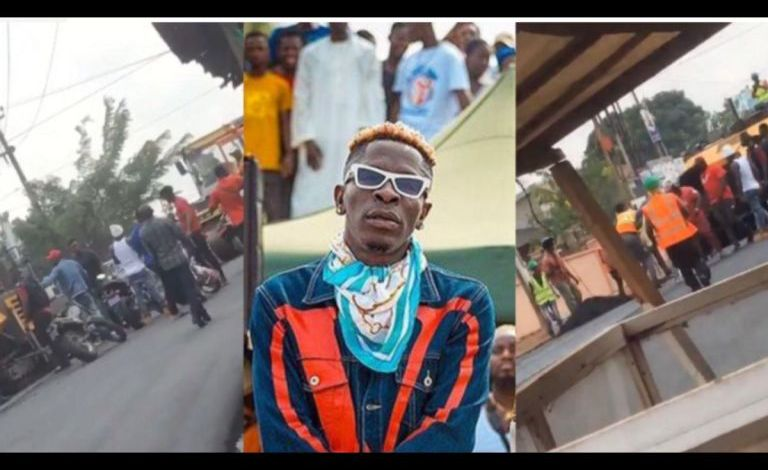 Shatta Wale apologizes to the contractor