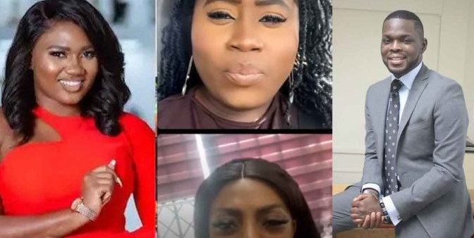 Lydia Forson Nana Aba Anamoah live video