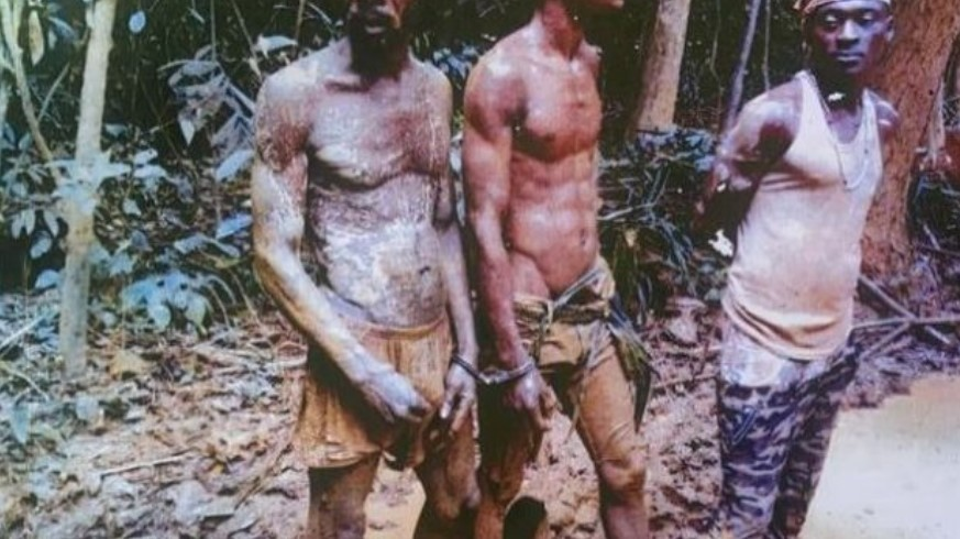 Takoradi: Illegal Miners Jailed 45 Years