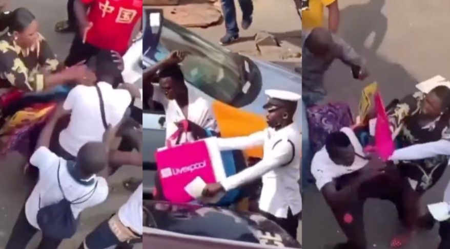 Pickpocket Receives Slaps From Woman He Tried To Steal From