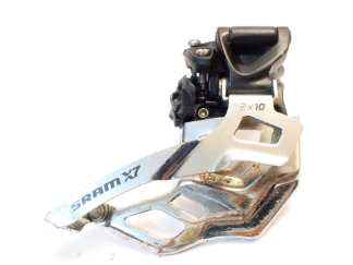 Sram X7 2x10 31,8/34,9mm etuvaihtaja