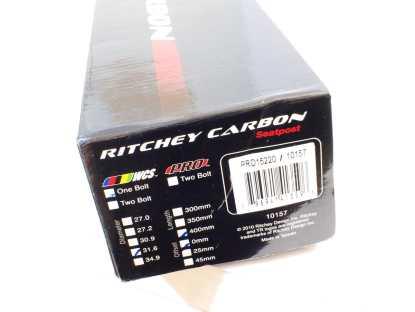 Ritchey Carbon WCS 31,6mm 400mm satulatolppa