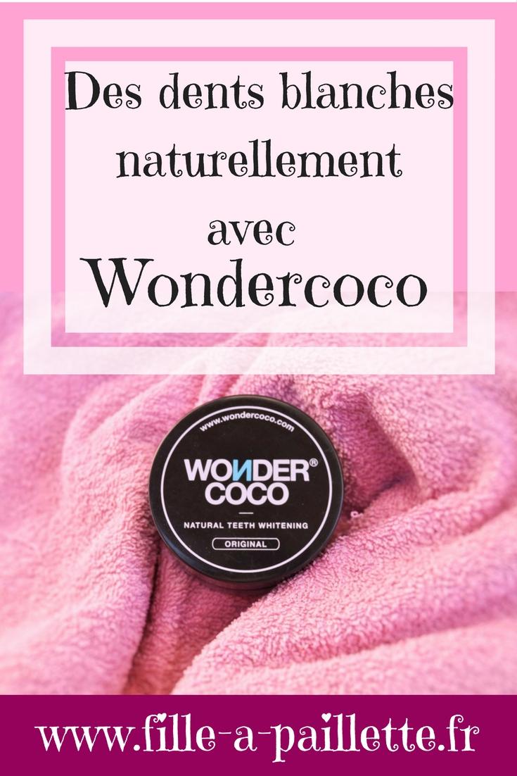 Des dents plus blanches naturellement avec Wondercoco
