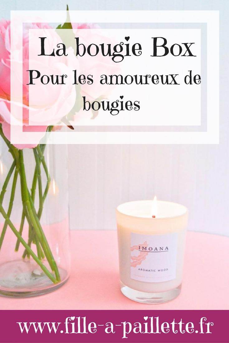 la bougie box pour les amoureux des bougies