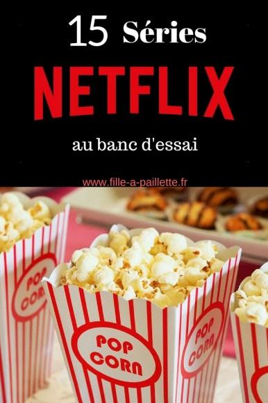 mon avis sur 15 séries Netflix