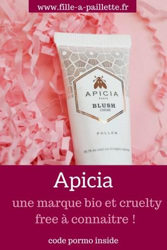 Apicia, une marque bio et cruelty free à connaitre absolument !