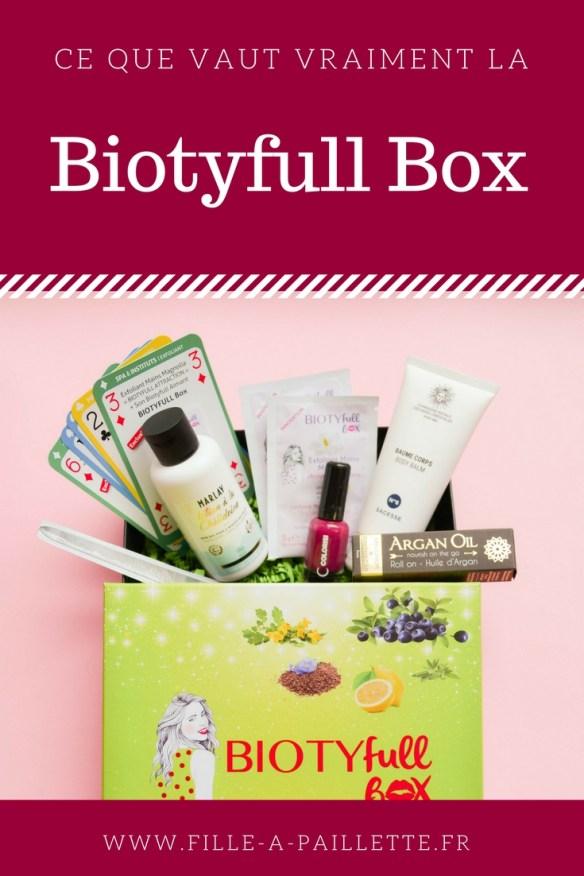 La biotyfull box mon avis