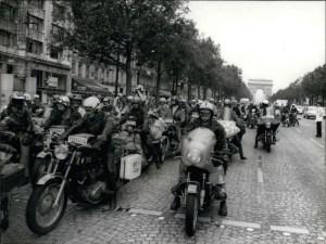 photo depart raid orion Anne France Dautheville 1972
