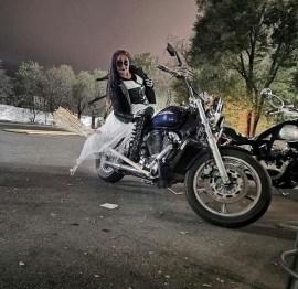 Les motardes fetent halloween partout dans le monde