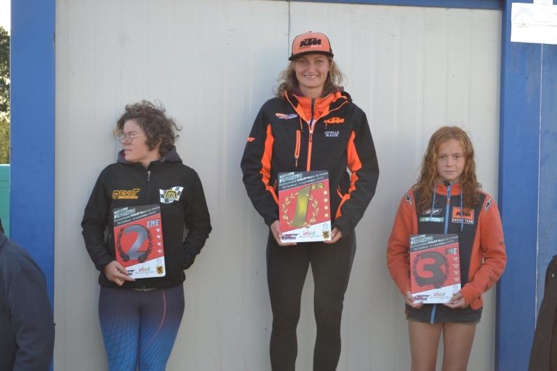 Estelle Bleuzé Championne de France des sables 2019