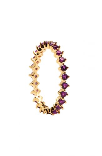 PD Paola Ring – Violet Bird Goud