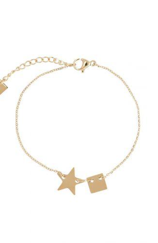 ZAG Bijoux Armband – Ster Goud