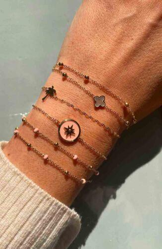 ZAG Bijoux Armband – Parelmoer Klavertje