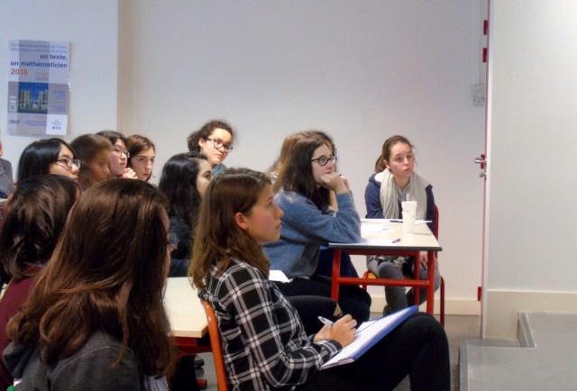 Photo RJM Paris 2017 filles maths