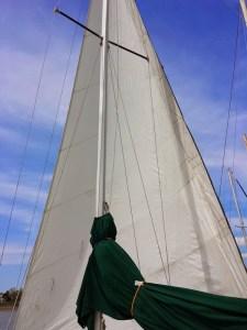 Sail unfurled