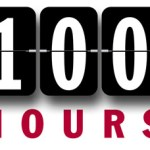 A milestone….or hourstone?