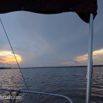 Storms in the distance