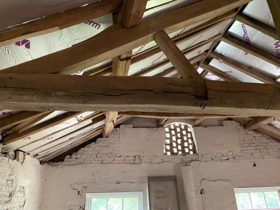 luxury bridal suite work in progress - fillongley hall, warwickshire wedding venue