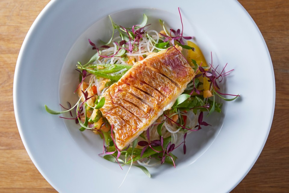 Thomas the caterer - wedding catering - red mullet dish