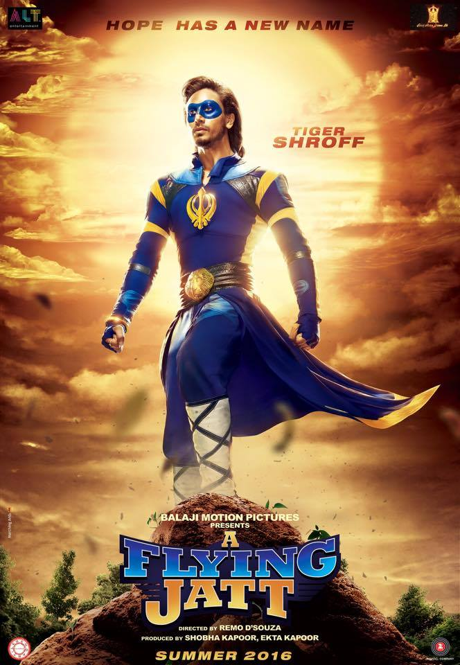 A Flying Jatt Tiger Shroff