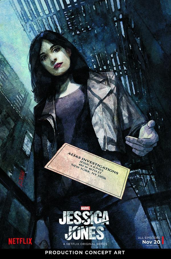 Marvel's Jessica Jones On Netflix
