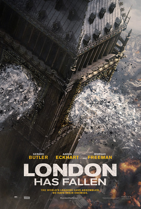 London Has Fallen Movie Trailer