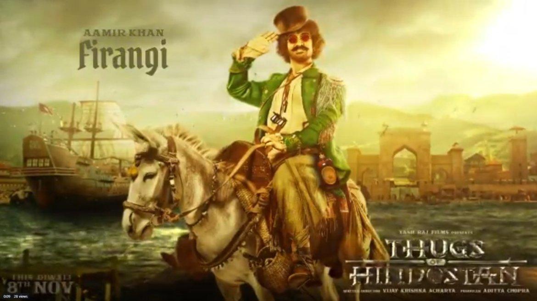 Thugs of Hindostan Trailer