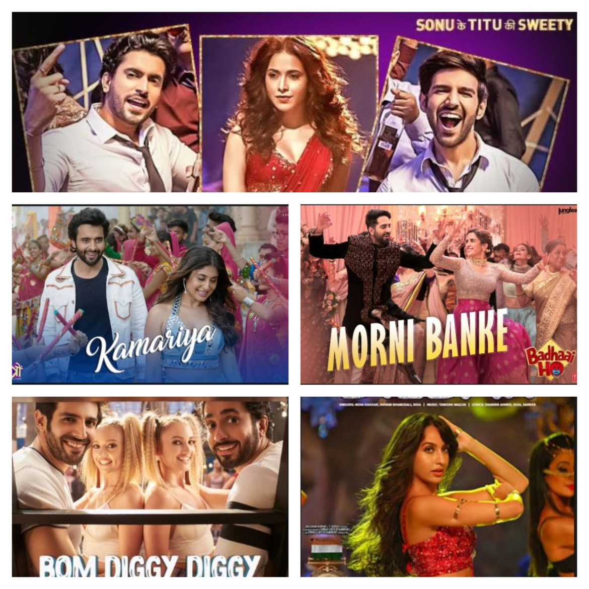 Best Bollywood Dance songs 2018 | Most watched on You tube