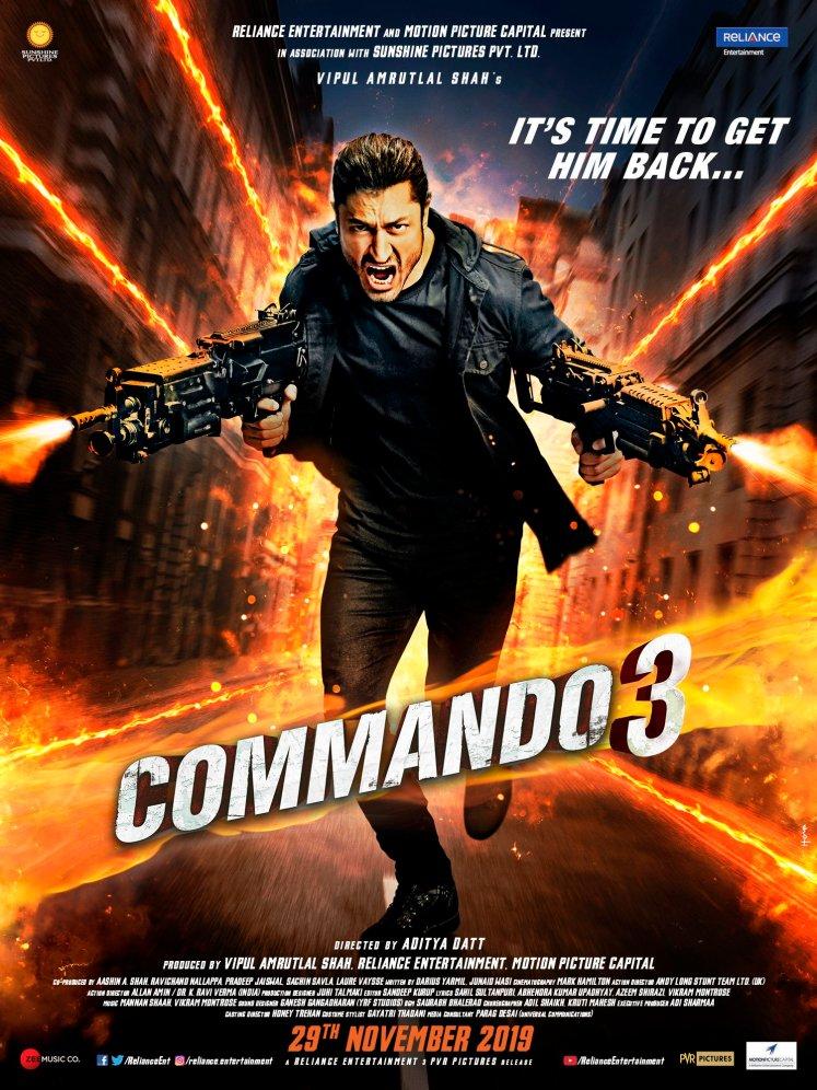 Commando 3 Poster